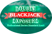 Игровой автомат Double Exposure Blackjack Pro Series играть в казино Вулкан Делюкс